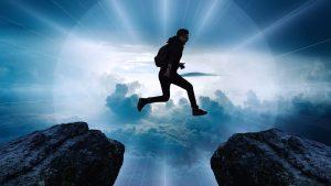 Sprung in eine andere Dimension